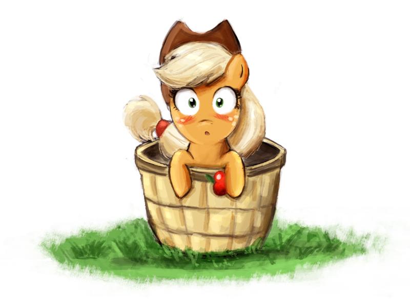 Little Applejack by AdlerToberg