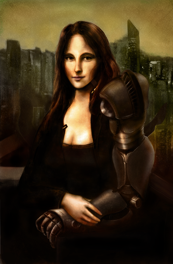 Mona Lisa 2105 by AdlerToberg