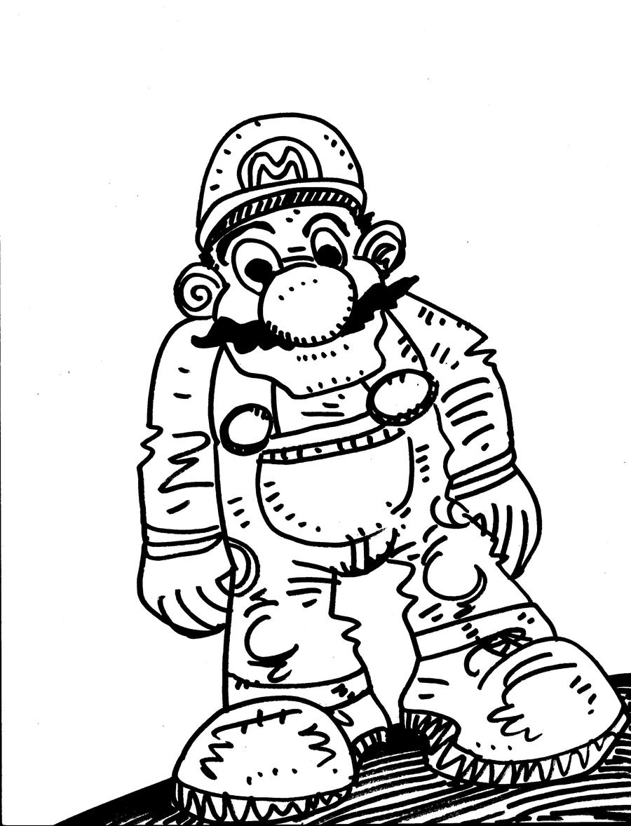 Super Mario Kart 8 Coloring Pages