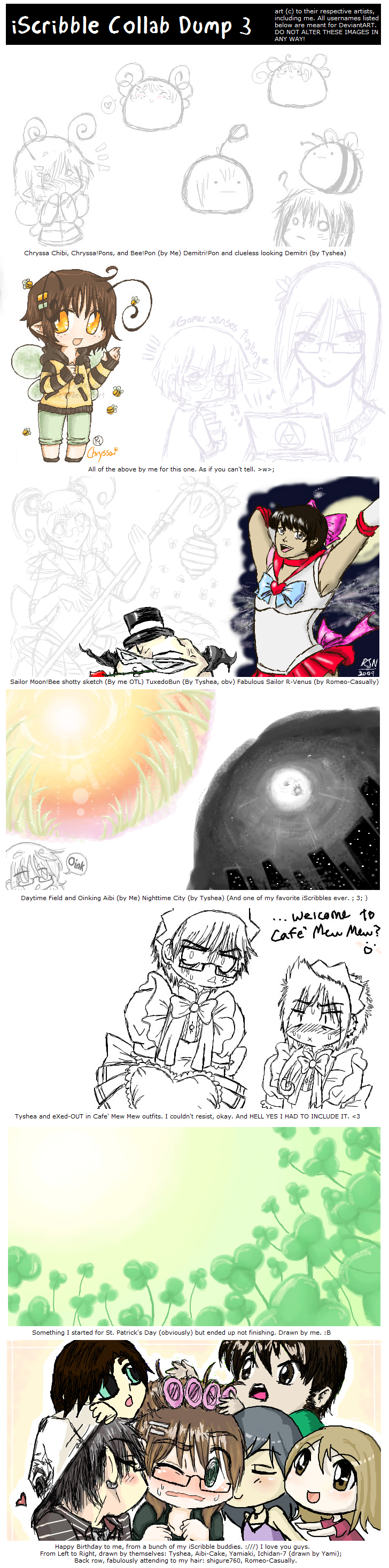 iScribble - Mini Dump 3 by Ai-Bee