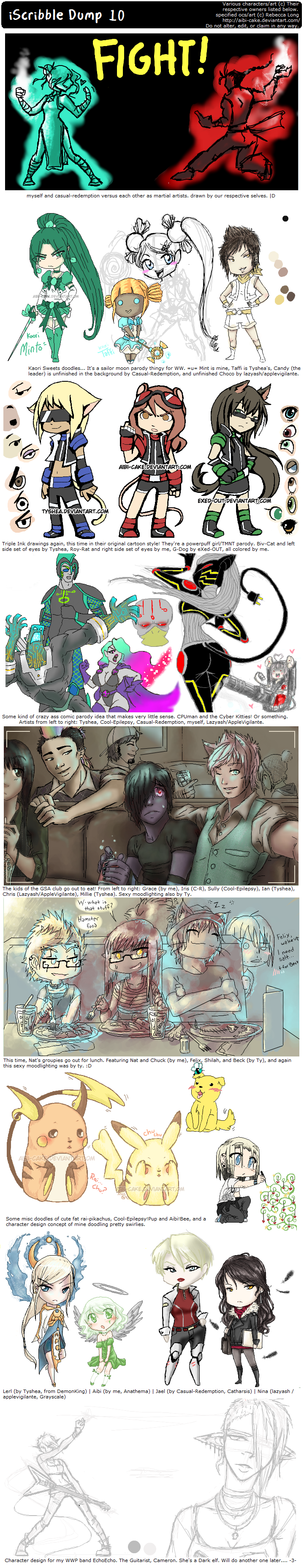 iScribble Dump 10 by Ai-Bee
