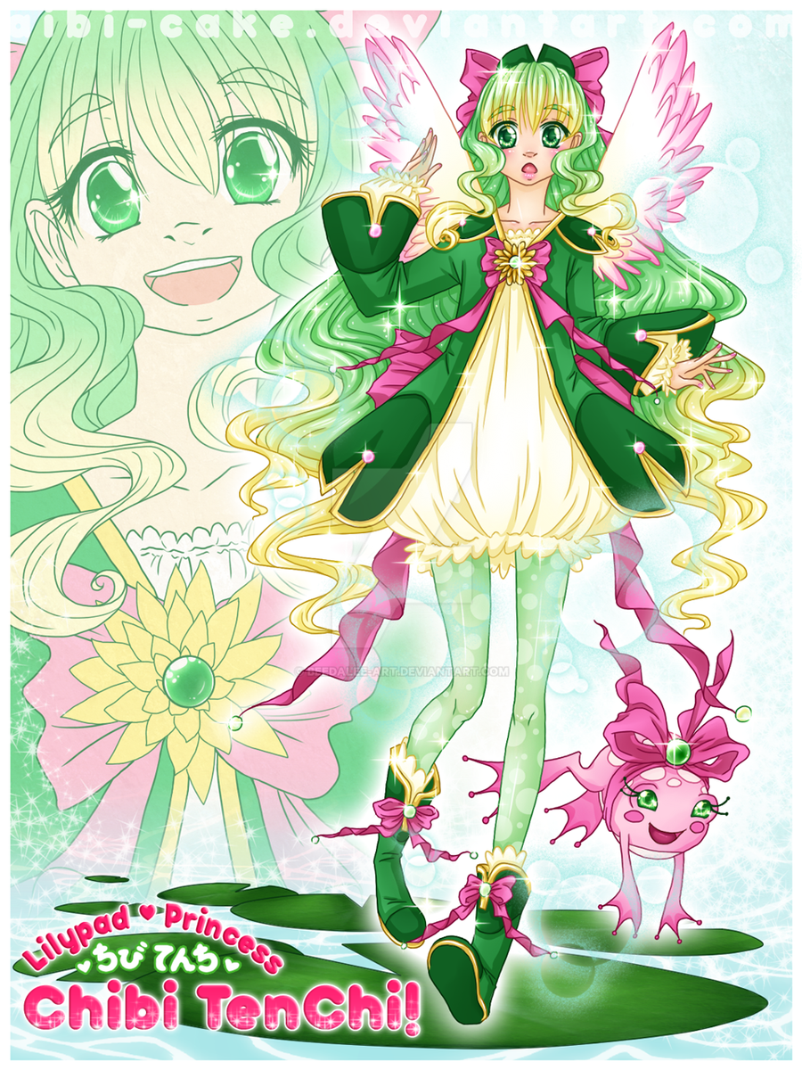 MG - Lilypad Princess TenChi by Ai-Bee