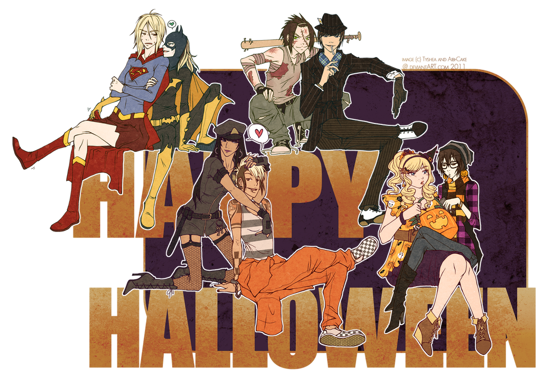 PT - Happy Halloween 2011 by Ai-Bee