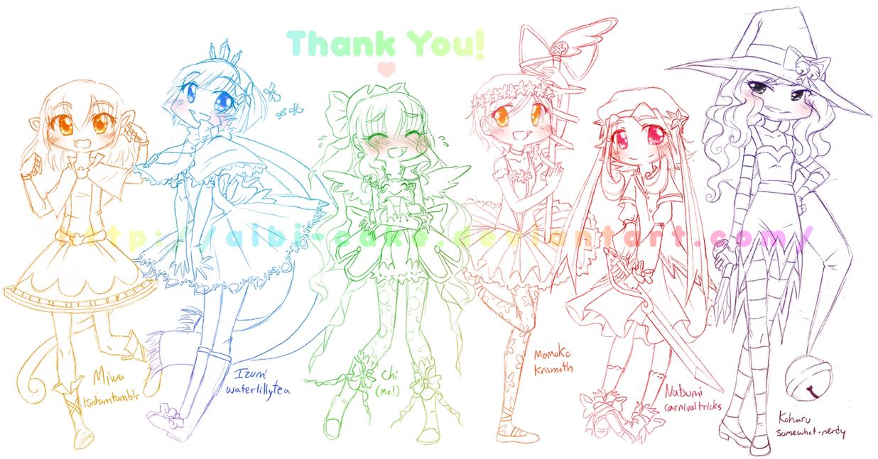 MG - MGC Thank You by Ai-Bee