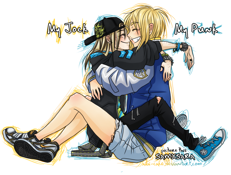 PT - My Jock, My Punk by Ai-Bee