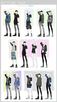 PT - Outfit Map: Sara