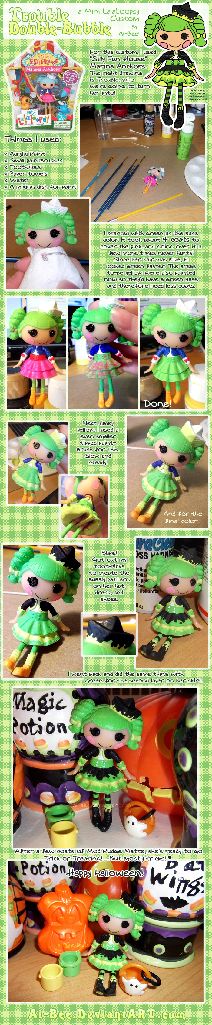 LLL - Trouble Double-Bubble Custom by Ai-Bee