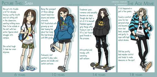 PT - Sara Age Meme by Beedalee-Art