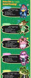 PT: Animal Crossing Pt. 2 (SamSara Sides) by Beedalee-Art