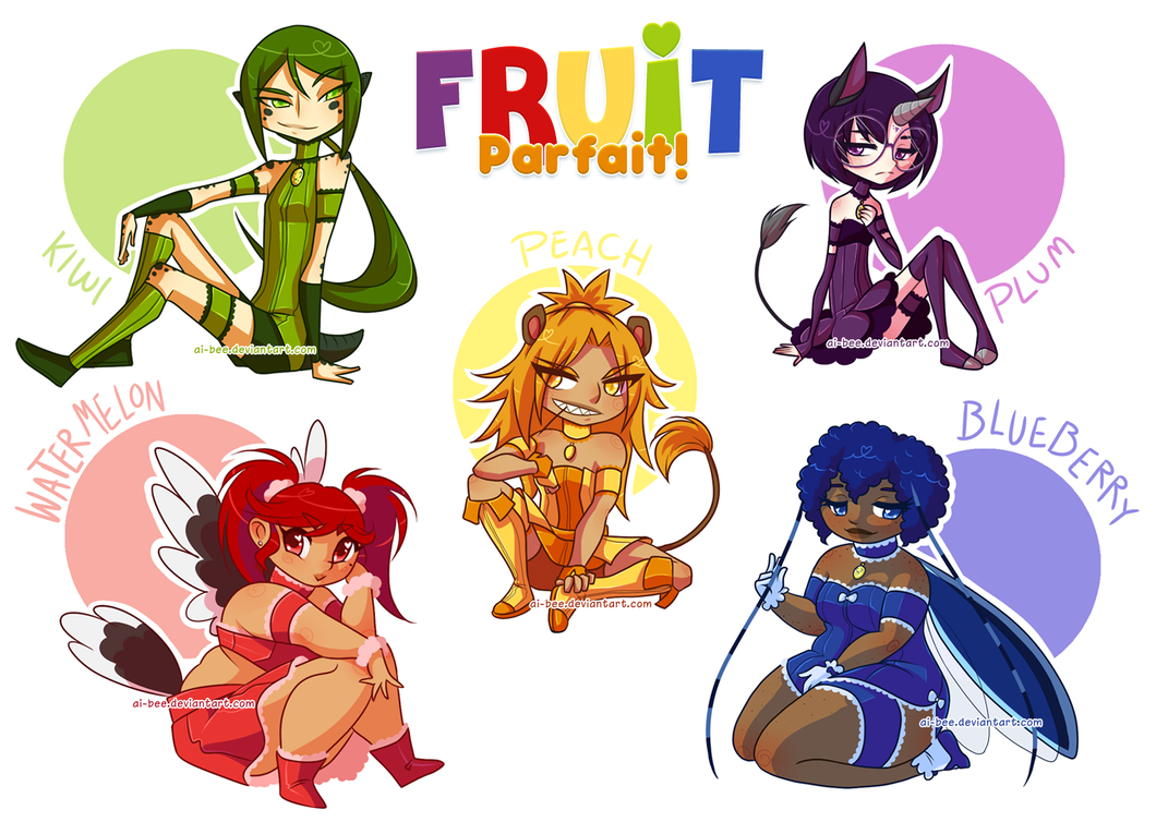 TMM - Fruit Parfait by Ai-Bee