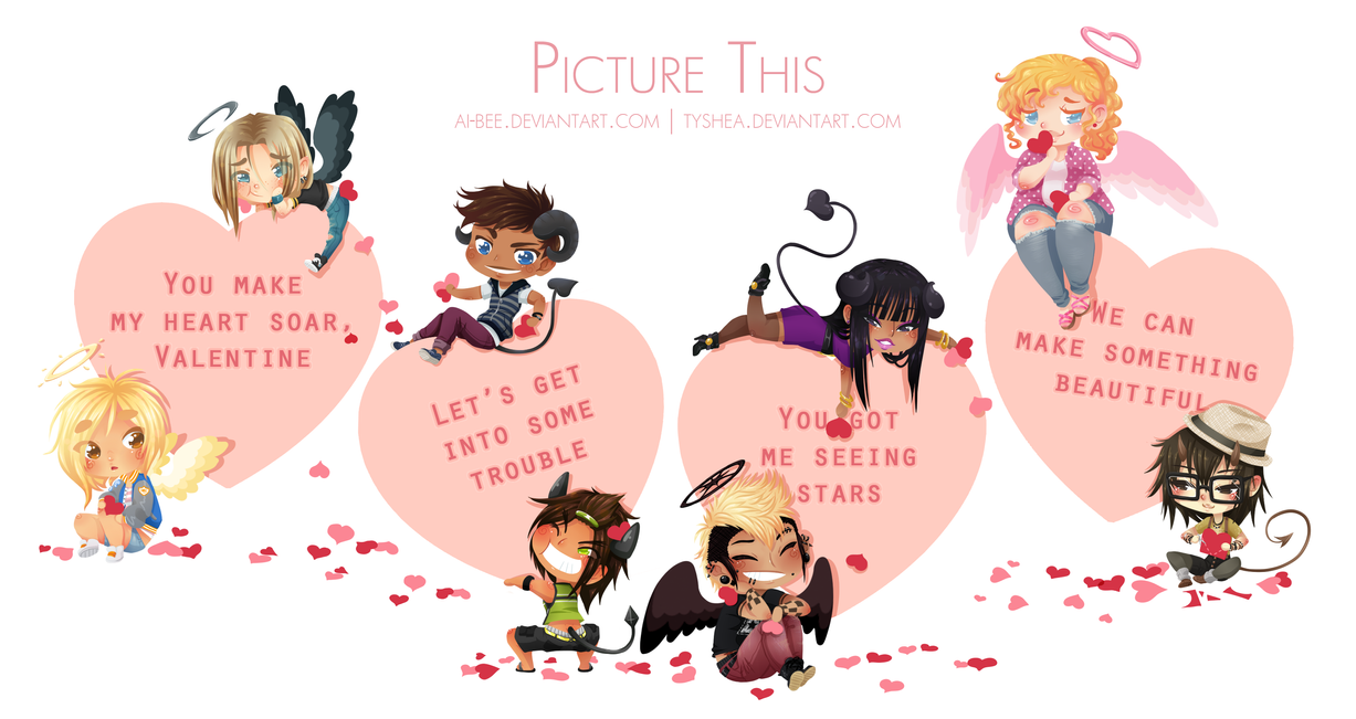 PT - Happy Valentine's Day 2014 by Ai-Bee