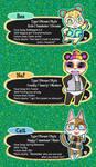 Animal Crossing New Leaf Villager Selfies