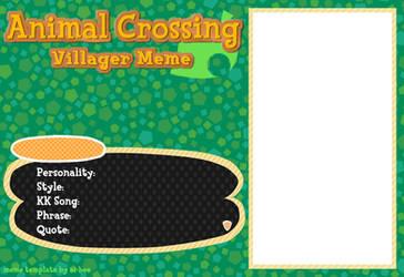 Animal Crossing Villager Meme by Beedalee-Art