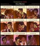 OoC - Constance x Linette Kiss Meme