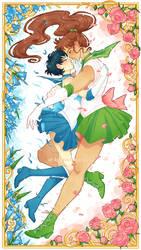 Senshi Serenade - Makoami by Beedalee-Art