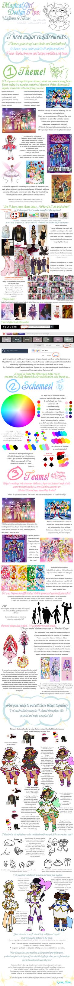 Crash Course: Magical Girl Uniforms by Ai-Bee