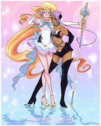 OoC - Sailor Elf Girlfriends by Beedalee-Art