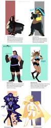 Superhero AU Vol.1 by Beedalee-Art