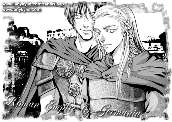 Roman Empire and Germania by ladykylie