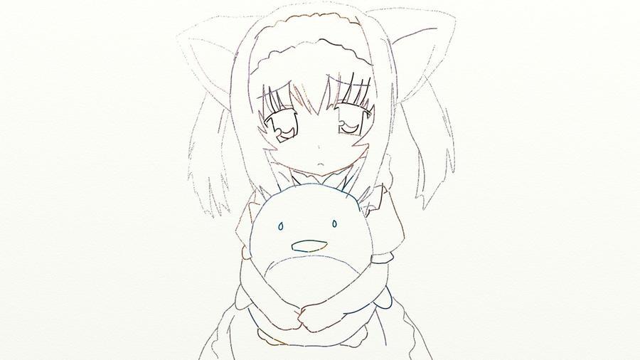 Anime Sad Cat Girl By Okamichocolate On DeviantArt