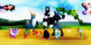 If Xilla was a Pokemon Trainer........