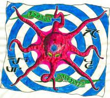 Banner of Chaos - Pyaray by deviAntAllan