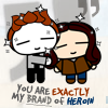 Icon: My brand of heroin by crepusculito