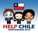 HELP CHILE by crepusculito