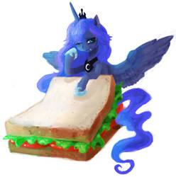 Luna sandwitch by zombeegost