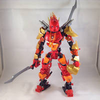 Tahu, Master of Fire (Pre-redesign version) by MrBoltTron