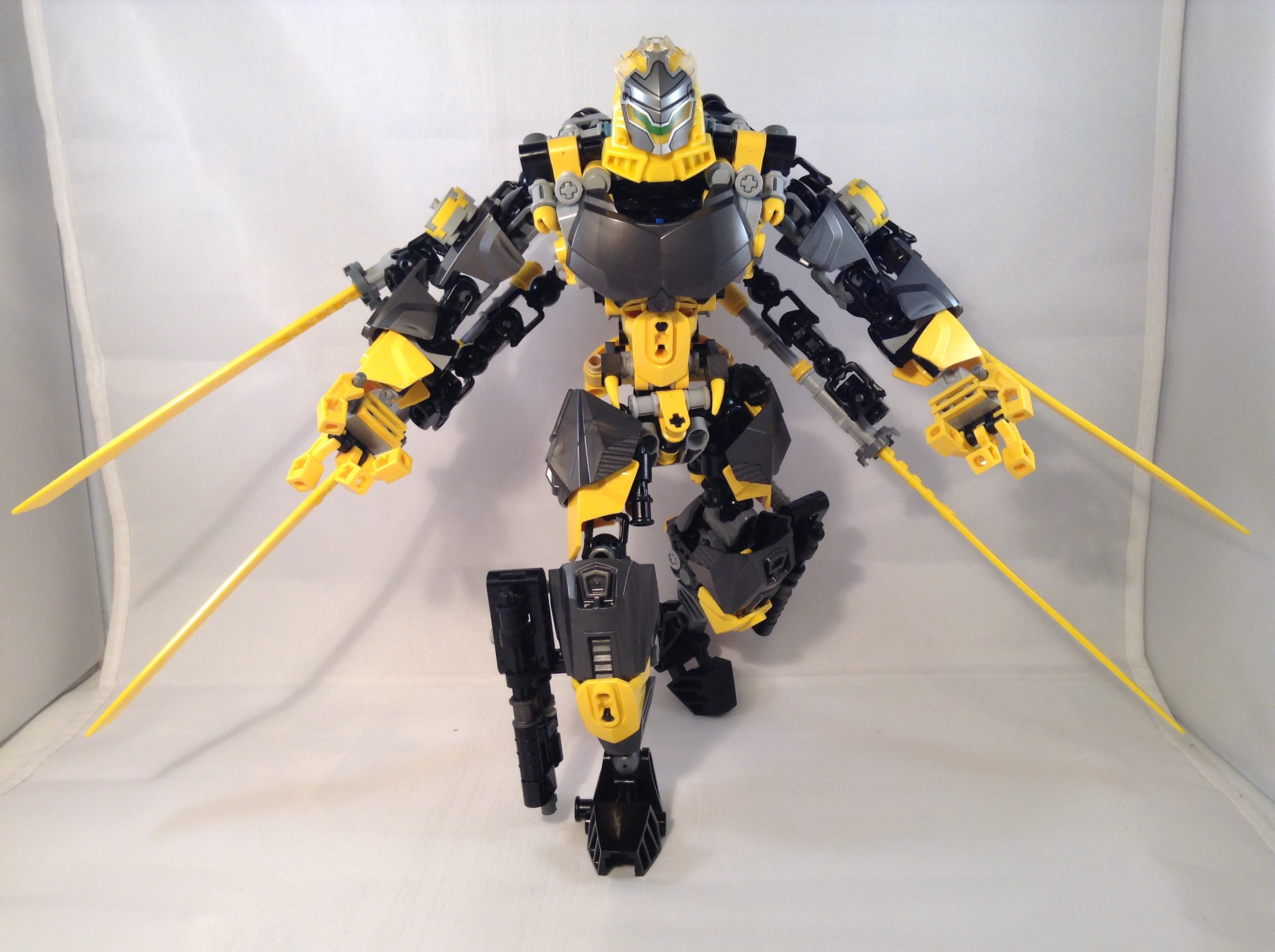 Lego Ccbs 2018 >> Toa Boltrax, Toa of Lighting 02 by MrBoltTron on DeviantArt