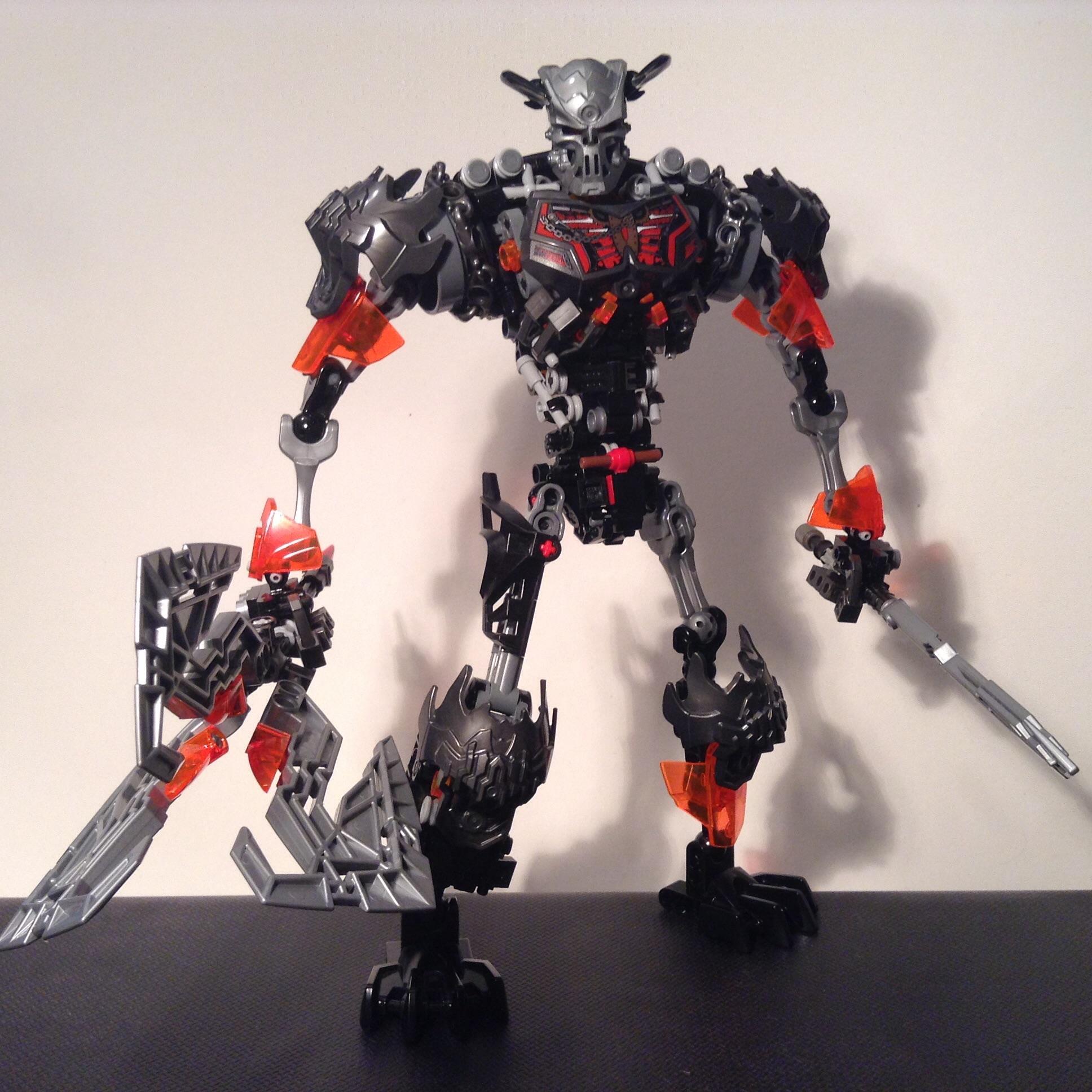 Lego Bionicle 2015 Onua Instructions