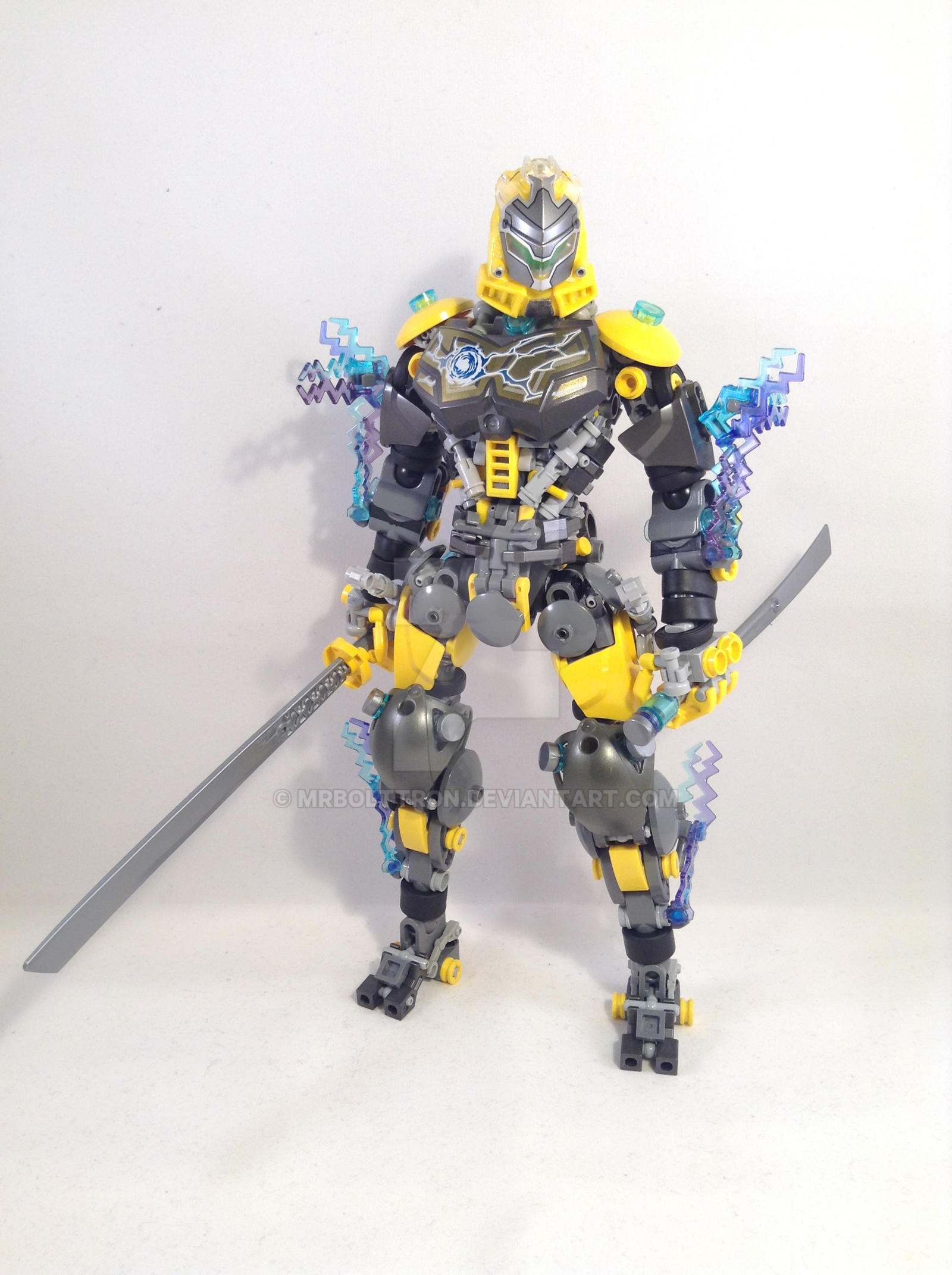 Bythalis, The Storm Ninja by MrBoltTron