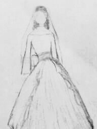 Wedding Dress Design by MeitanteiChaos