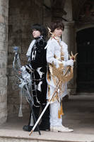 Lelouch and Suzaku by CLAMP by NecroAlchemist