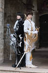 Lelouch and Suzaku by CLAMP