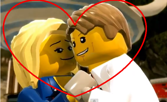 Lego City Undercover Chase Mccain Civilian Chase x natalia byLego City Undercover Chase Mccain Civilian
