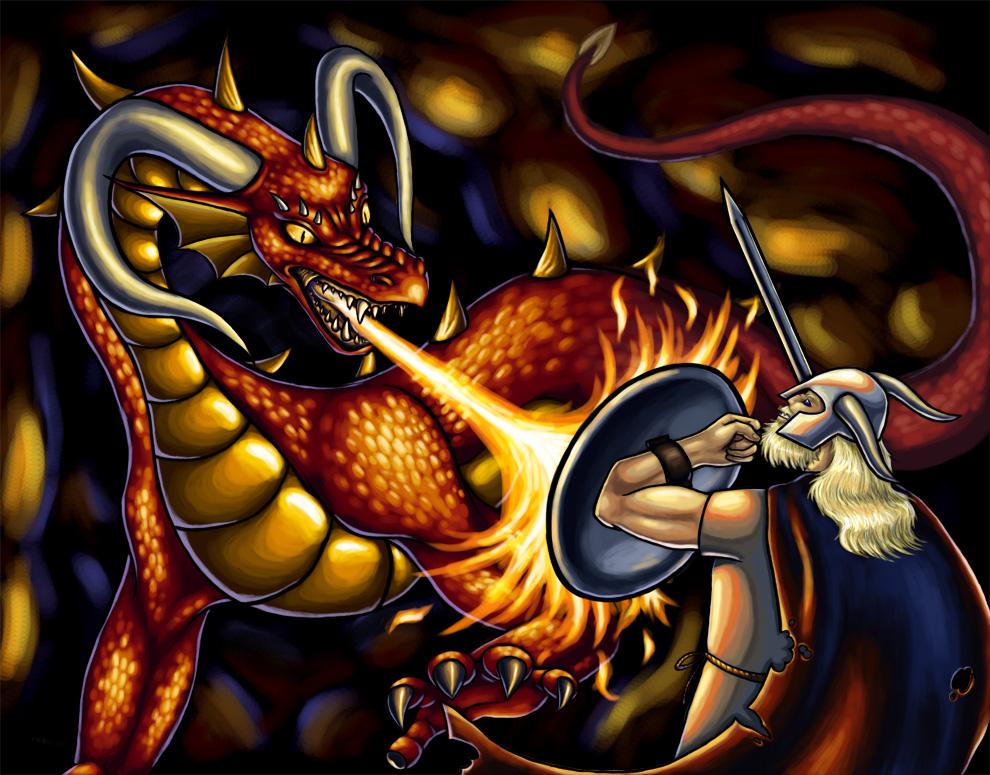 Beowulf the final battle summary