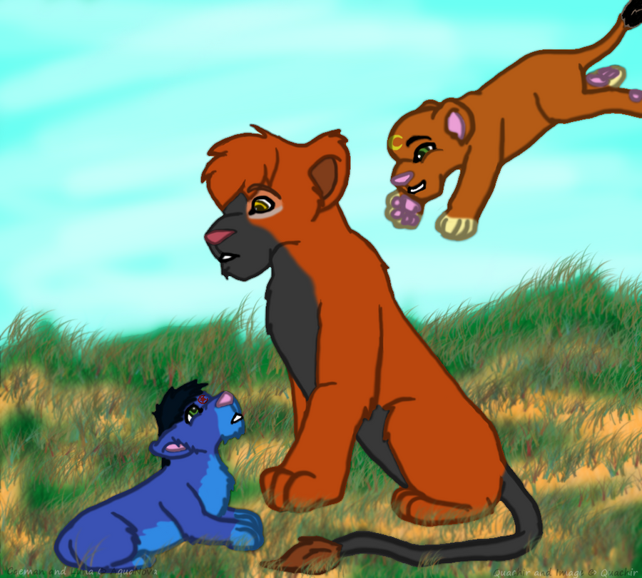 Adventures in Cub Sitting by Quachir