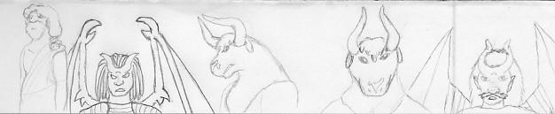 Random Sketches by Quachir