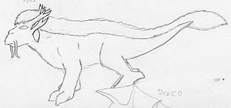 Gargoyle Beast - Sulin by Quachir