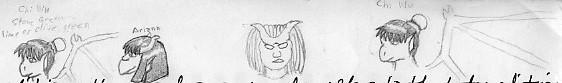 Bust Sketches by Quachir