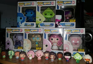 Funko Pop and Pint Sized Heroes Steven Universe