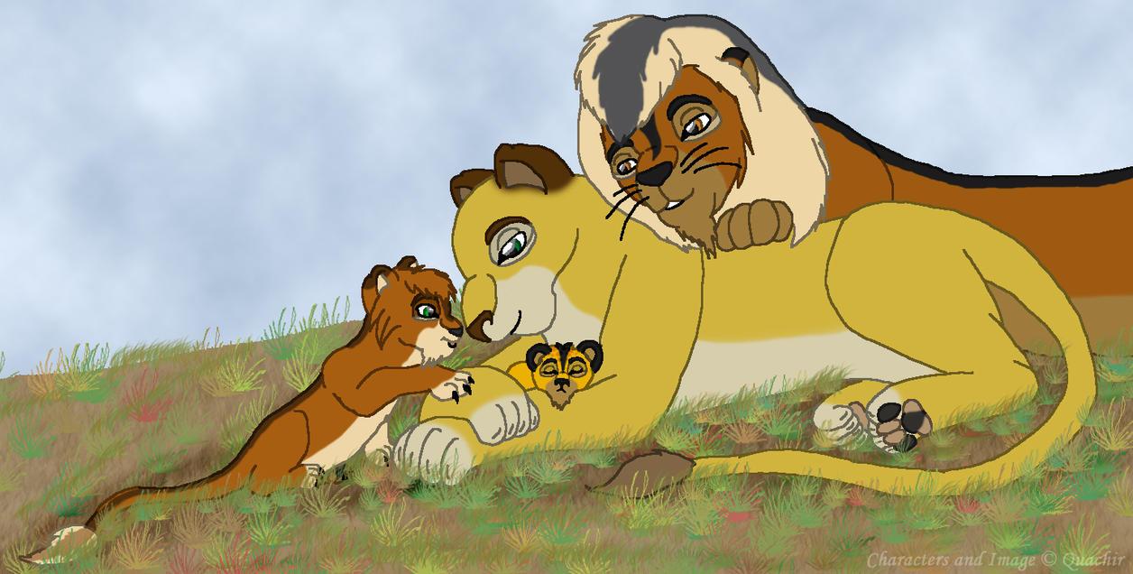 A Family Moment by Quachir