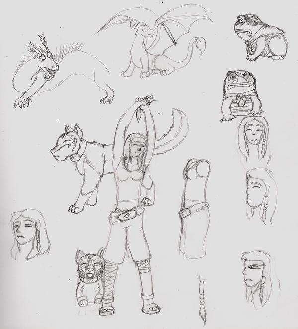 Sketch Dump Feb 2007 4 by Quachir