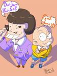 osomatsu-san:Iyami and Chibita