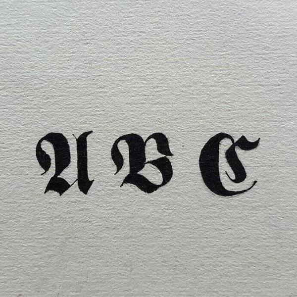 INKTOBER2016 PREPARATION : The Daily Prophet font by