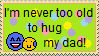 Dad Hug stamp by Sagittariusstar14