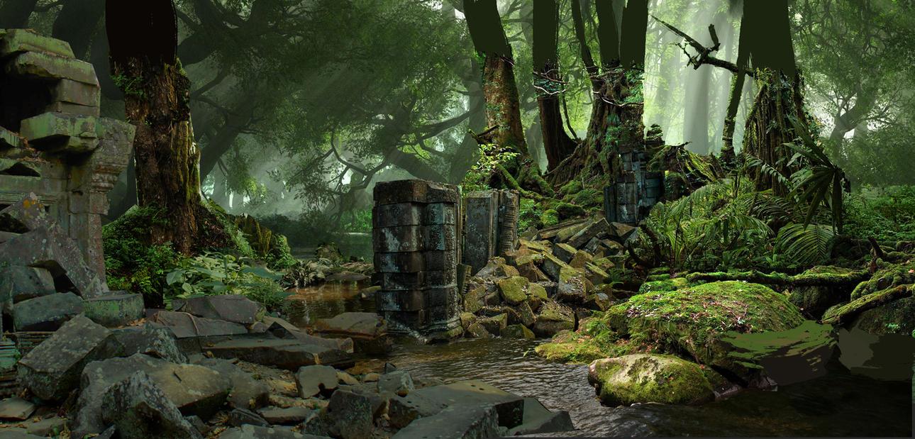 Jungle - process by 4y4elo