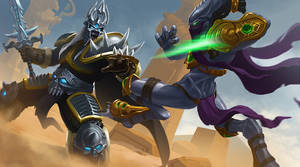 -Heroes of the Storm- fan art.